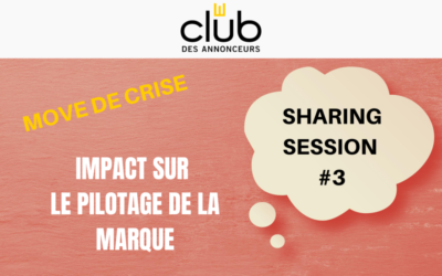 Sharing Session #3 – Move de Crise de Pilotage de Marque
