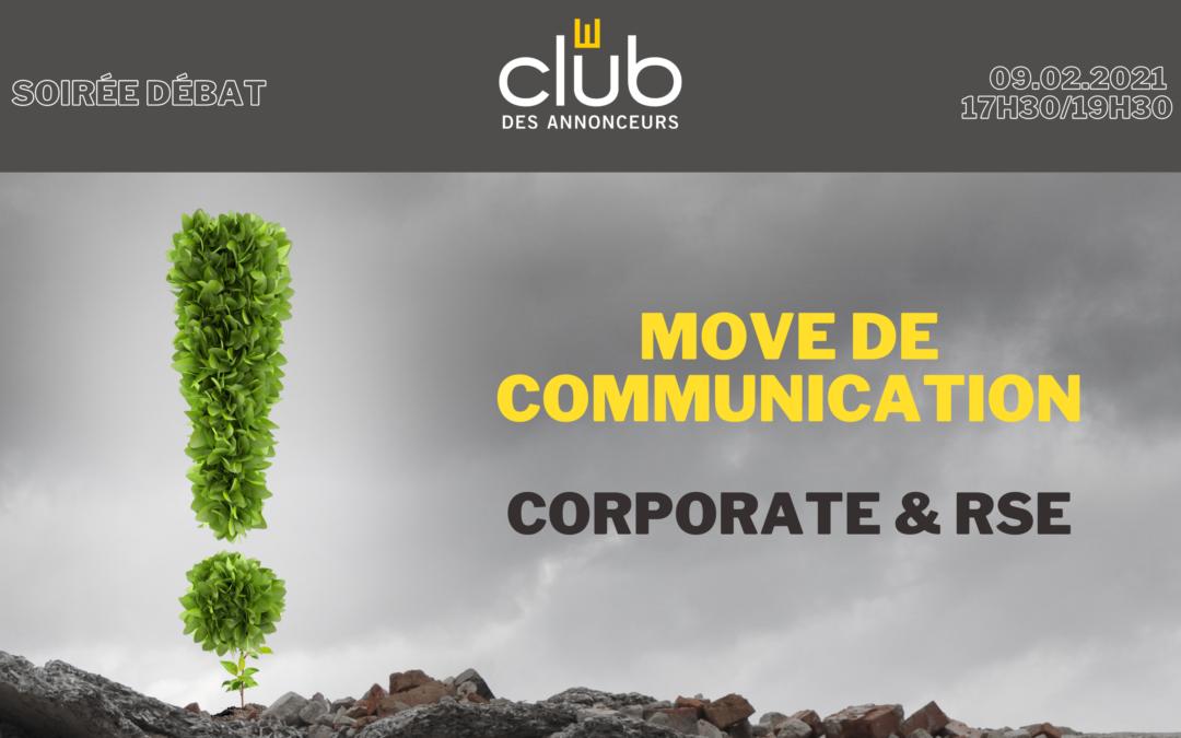 Move de Communication Corporate & RSE
