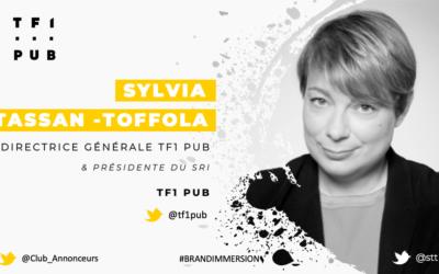Entretien avec Sylvia Tassan-Toffola, Directrice Générale – TF1 PUB
