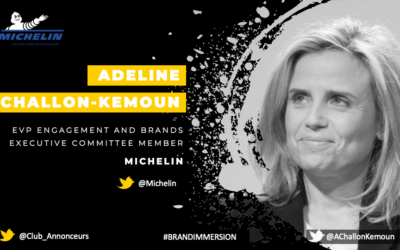 Entretien avec Adeline Challon-Kemoun, EVP Engagement and Brands – Michelin