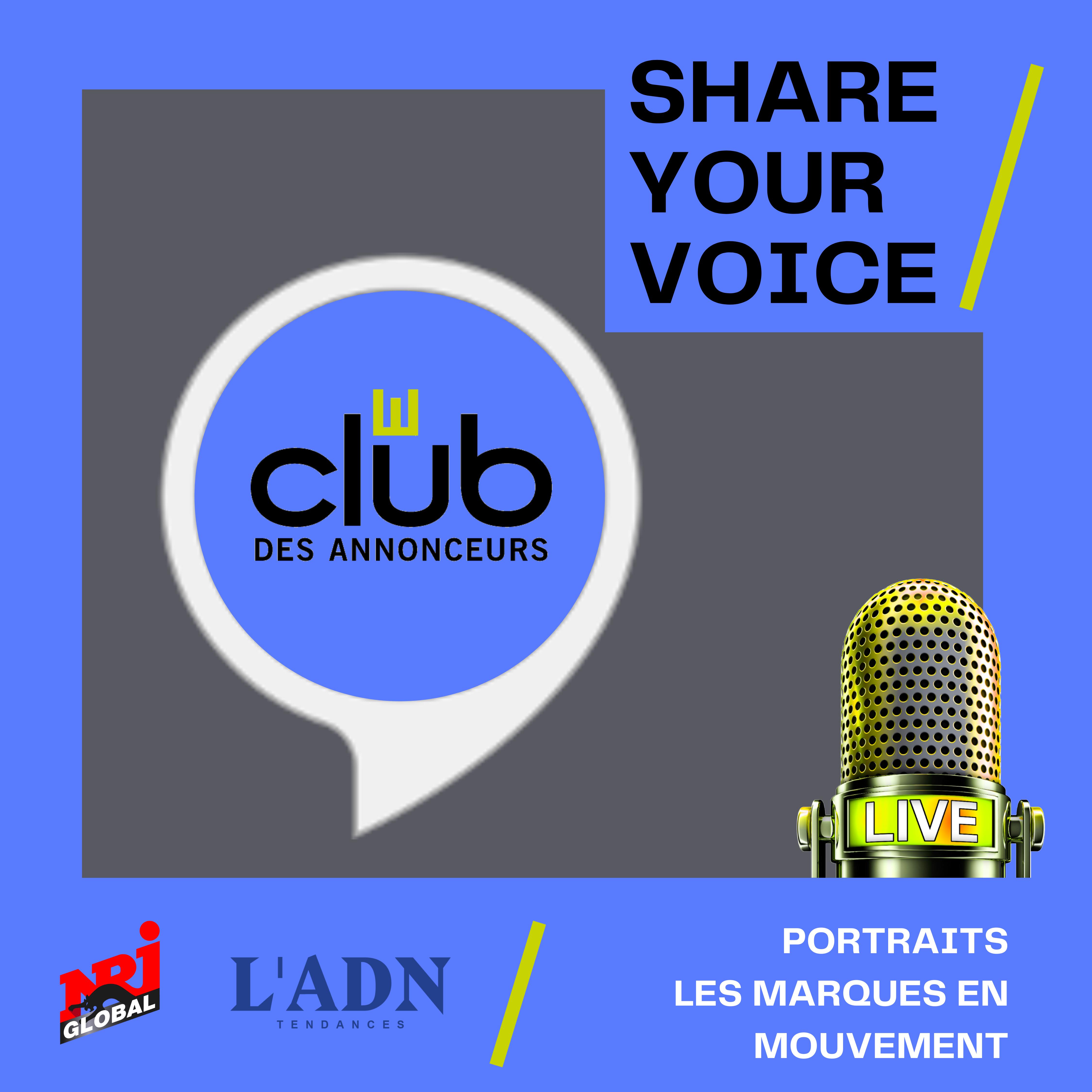 Share Your Voice : Le Club des Annonceurs lance son podcast !